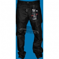 Thug Life Jeans Denim Pant Skull Metalic Black (SALE)