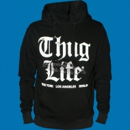 Thug Life - Old English Hoody schwarz