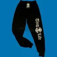 Thug Life - Old English/Skull Ladies Jogginghose schwarz