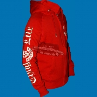 Thug Life - Old English/Skull Logo Ziphoody rot