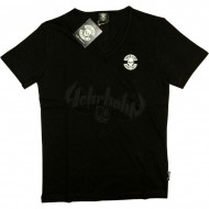Thug Life - Skull Group V-Neck Shirt schwarz