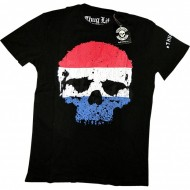 Thug Life T-Shirt Holland Skull Flag