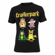 Trailerpark - Comic T-Shirt schwarz
