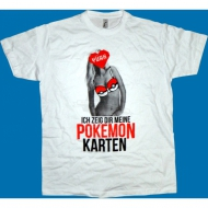 Trailerpark Pokemonkarten Shirt wei�