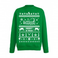 Trailerpark Sweater XMAS16 grün