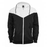 Urban Classics - Arrow Windrunner schwarz/wei� (Ausverkuft)