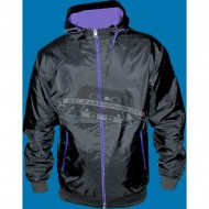 Urban Classics Contrast Windrunner  black/purple