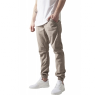 Urban Classics Cotton Twill Jogging Pants beige