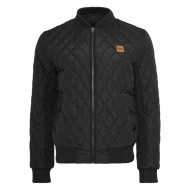 Urban Classics - Diamond Quilt Nylon Jacket black