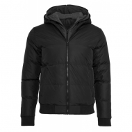 Urban Classics - Double Hooded Jacket black