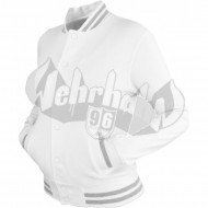 Urban Classics - Ladies College Sweatjacket weiss