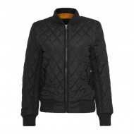Urban Classics - Ladies Diamond Quilt Nylon Jacket black