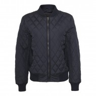Urban Classics - Ladies Diamond Quilt Nylon Jacket navy