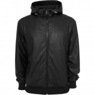 Urban Classics - Light Leather Imitation Zip Hoodie