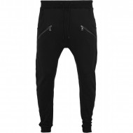 Urban Classics - Zip Deep Crotch Sweatpants black