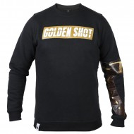 White Rabbit Sweater Golden Shot schwarz