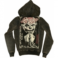 Yakuza Ink. HOB 136 Scrap Hoody carbon moon