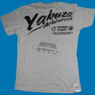 "Yakuza Premium T-Shirt ""Athletics Grau"" YS-1318"