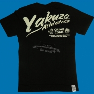 "Yakuza Premium T-Shirt ""Athletics Schwarz"" YS-1318"