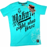 Yakuza Ink. T-Shirt TSB109 eight nine three blau