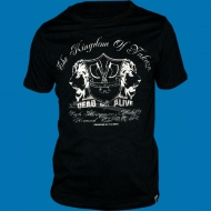 Yakuza Ink. YS1209 Lion Head T-Shirt schwarz