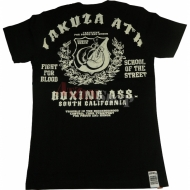 "Yakuza Premium T-Shirt ""Boxing Ass"" YS-1301"