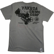 "Yakuza Premium T-Shirt ""Lord of Anarchy"" YS-1308 grau"