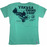"Yakuza Premium T-Shirt ""Lord of Anarchy"" YS-1308 t�rkise"
