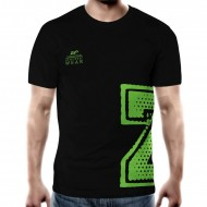 Zec+ Athletic T-Shirt Men Schwarz