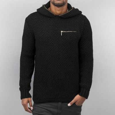 Cazzy Clang Knit Hoody Black