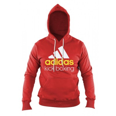 Adidas Community Hoodie Kick Boxing red/white
