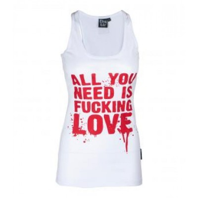 All you need is fucking love Tank Top