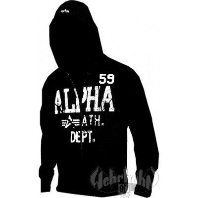 Alpha Industries Ath. Dept. Jacket black