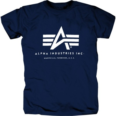 Alpha Industries Basic Logo Shirt Navy