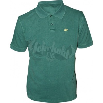 Alpha Industries Classic Polo dark green