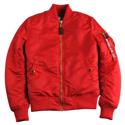Alpha Industries Damen Bomberjacke MA-1 VF PM Wmn speed red