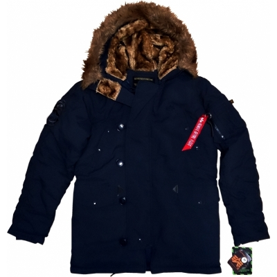 Alpha Industries Explorer Winterjacke rep. blue
