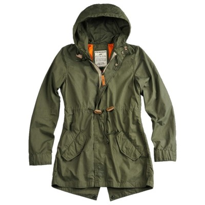 Alpha Industries Field Jacket Light Weight Fishtail Woman (olive)
