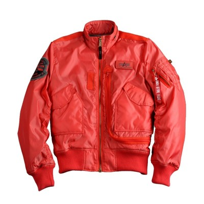 Alpha Industries Fliegerblouson Engine Spicy Red