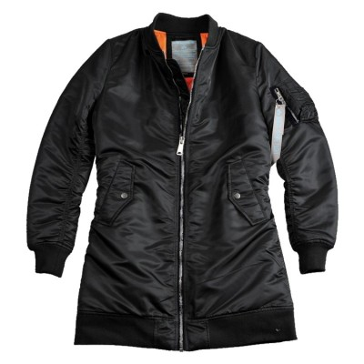 Alpha Industries Fliegermantel MA-1 Coat Woman (black)