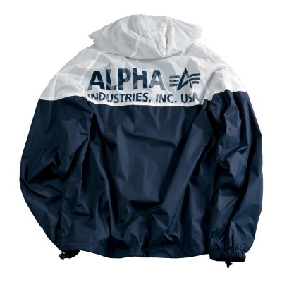 Alpha Industries Helix Windrunner rep.blue/white