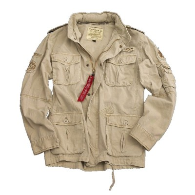 Alpha Industries Jacke Arlington without print khaki