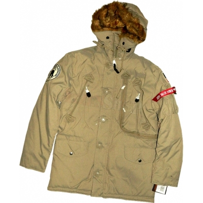 Alpha Industries Jacke Polar Khaki