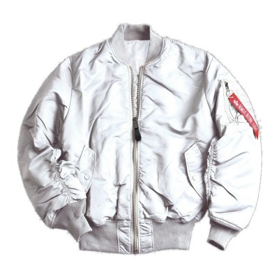Alpha Industries - MA-1 Bomberjacke white