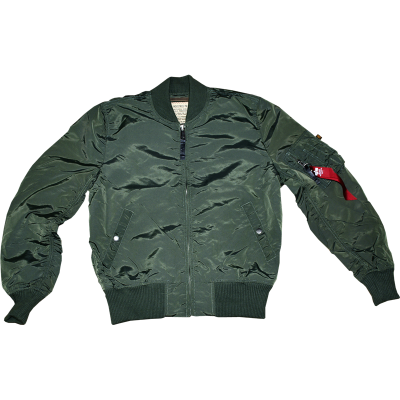 Alpha Industries - MA-1 TT Bomberjacke sage green
