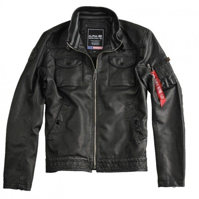 Alpha Industries - MC Club Jacket FL schwarz