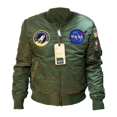 Alpha Industries NASA MA-1 VF Bomberjacke sage-green