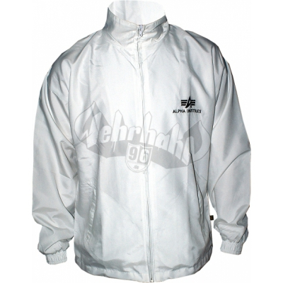 Alpha Industries Track Logo Suit Jacket weiss (SALE)