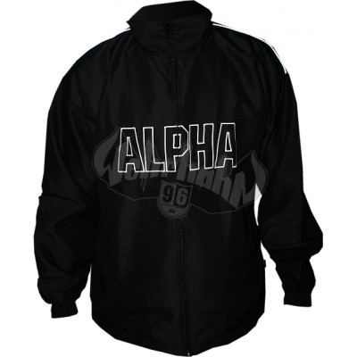 Alpha Industries Track Suit Jacket schwarz (SALE)
