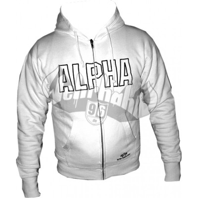Alpha Industries Trainingsjacke weiss